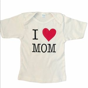 ✨3 for $30✨Unisex 18-24M I Love Mom Tee Shirt